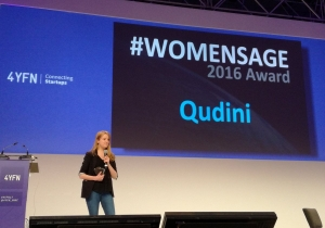Qudini CEO wins Women Age Award