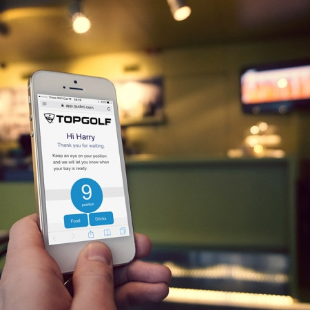 Helping TopGolf to improve the queuing experience with Qudini