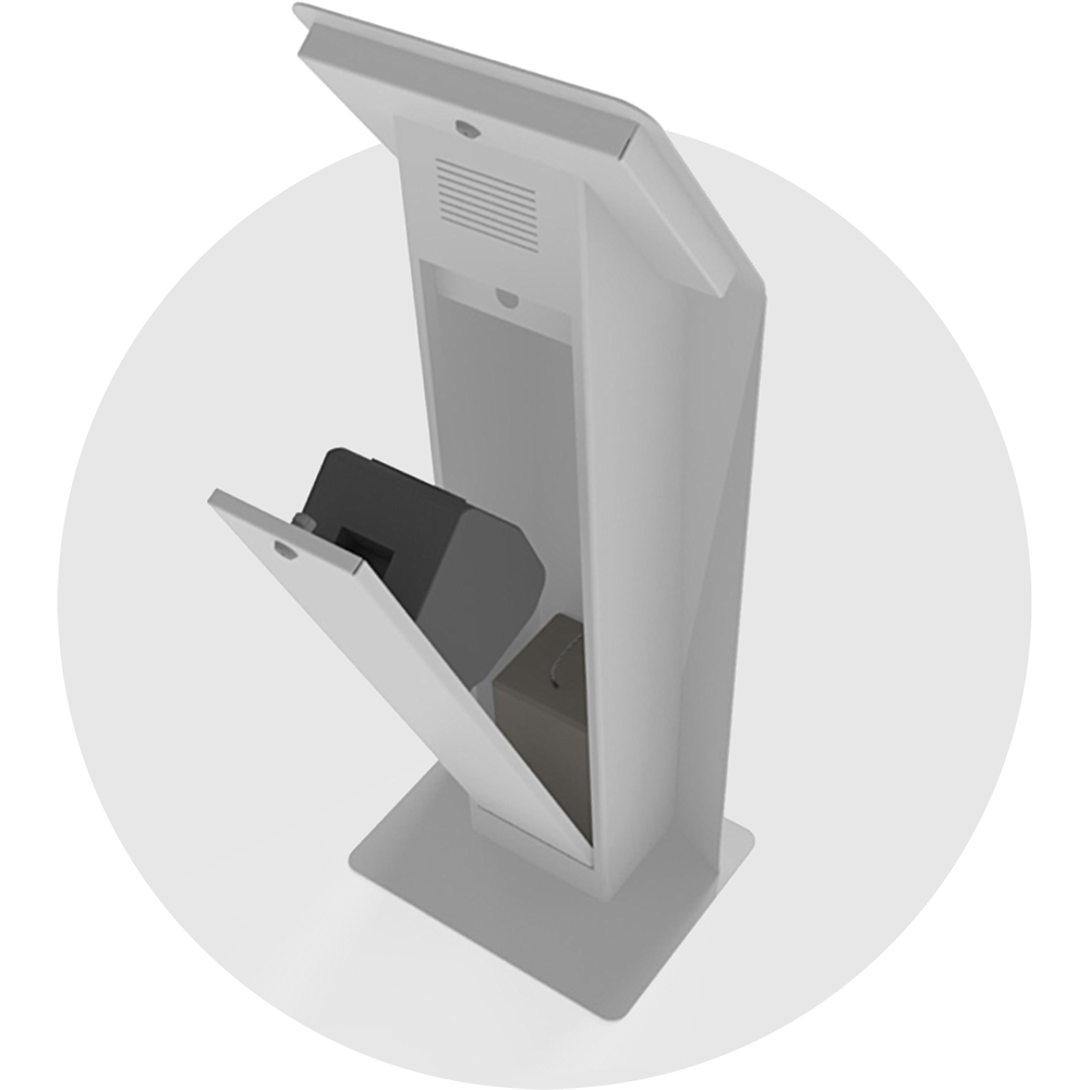 Qudini Flexible Tablet Kiosk Hardware