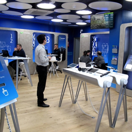 Movistar Queue Management System Qudini