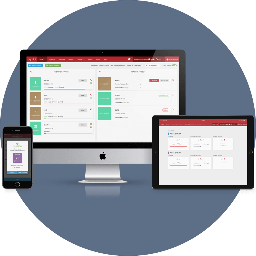 Manage Stock Waitlist On Any Device Qudini