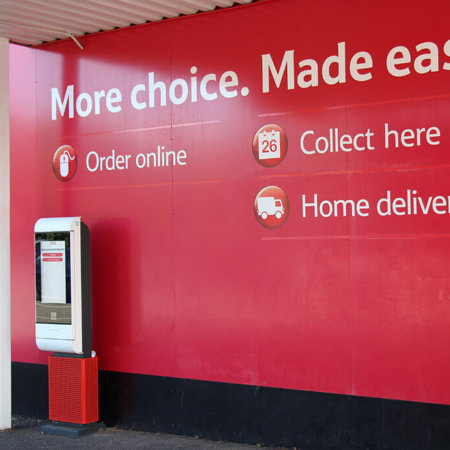 Tesco Drive Through Click And Collect System Qudini