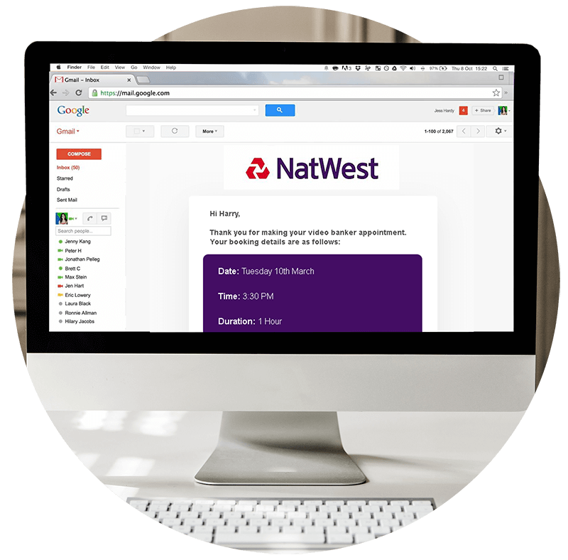 NatWest Community Banking Solution Image Qudini