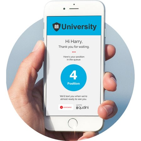 University Student Hub Queue Management System Qudini