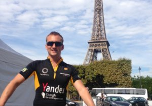 Fraser Hardy, Qudini Co-Founder & CTO, TechBikers Paris to London