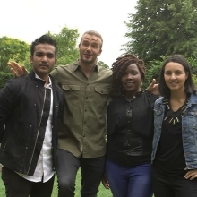 Are you aged 18-29, from a Commonwealth country and changing the community you live in? Then @davidbeckham has a message for you... #TheSearchIsOn