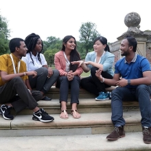 2017 Award winners in Cambridge during the Queen's Young Leaders Residential