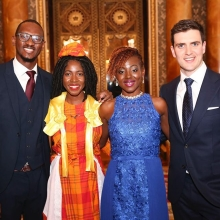 Visiting Buckingham Palace to collect their Awards from Her Majesty The Queen is a very special moment for the #QueensYoungLeaders The meeting is the culmination of a life-changing year of opportunities they receive to develop their leadership skills, through training and mentoring.  If you're a young leader in your community and you think you have what it takes to be one of the 2018 Queen's Young Leaders then apply today. Applications close in just FIVE days!  To apply you must be aged 18-29 and from a Commonwealth country. Make sure you go online (link in bio) before August 21 #TheSearchIsOn #leadership #youth