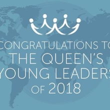 Congratulations to all of the winners and runners up for 2018! #QueensYoungLeaders
