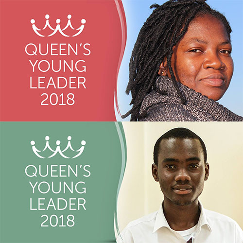 Introducing Queen's Young Leaders Alimatu and Derick