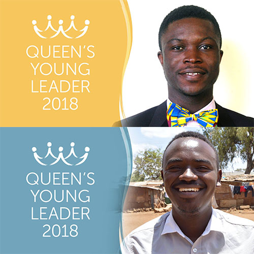 Introducing Queen's Young Leaders Shadrack and Douglas