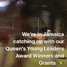 Check out our story for more! #queensyoungleaders #jayecan