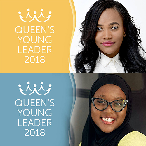 INTRODUCING QUEEN'S YOUNG LEADERS MAVIS AND HAUWA