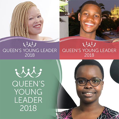 Introducing Queen's Young Leaders Siposetu, Thamsanqa and Alice