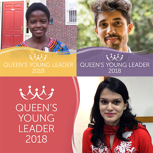 Introducing Queen's Young Leaders Sela, Ayman and Zaiba