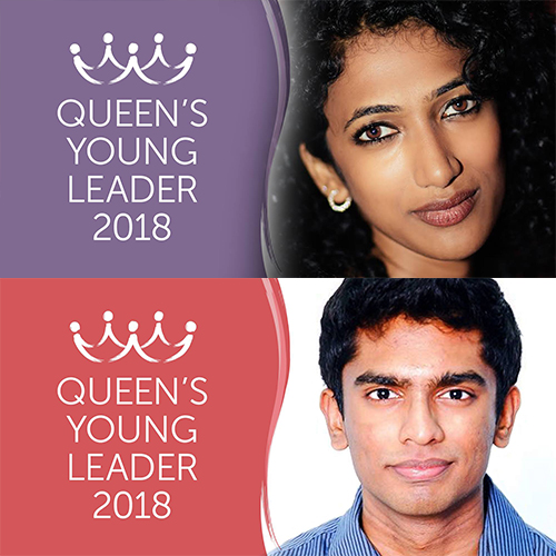 Introducing Queen's Young Leaders Trisha and Siva
