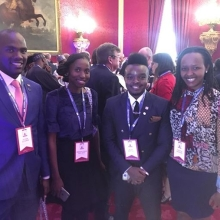 #QueensYoungLeaders ready to pitch! Check our story for more.  #PitchAtPalace