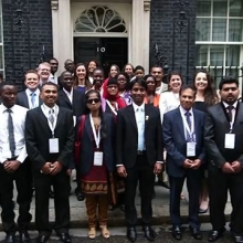 Throwback to 2015 when our first cohort of #QueensYoungLeaders Award winners joined us in London for their Residential Programme.  #ThrowbackThursday