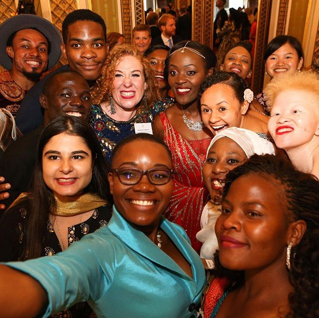 There's always time for a selfie🤳🏽#QueensYoungLeaders #ThrowbackThursday