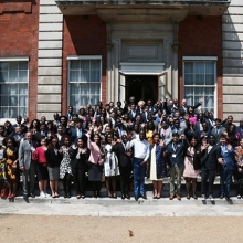 👋 2018 #QueensYoungLeaders at #Commonwealth Secretariat #Throwback