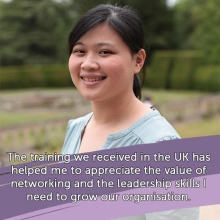 2017 Queen's Young Leader Yunquan Qin on how the Award has aided her work #QYLLegacy #QueensYoungLeaders