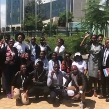 The #QueensYoungLeaders grantees are continuing to do amazing work in their communities. Since receiving its grant, @bongohive, Zambia's first technology and innovation hub, has been able to support more than 470 start-ups.  As well as sharing their expertise locally, staff from the organisation recently attended @ats_hq to deliver a workshop to budding entrepreneurs, offering practical advice about how to build and grow a start-up in Africa.  Some of the African Queen's Young Leaders alumni were also lucky to attend the event in Rwanda.