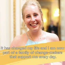 On #InternationalStandUptoBullyingDay we would like to recognise the work of Ashleigh, one of the 2017 #QueensYoungLeaders alumni.  Ashleigh, is the co-founder and chairperson of @sticksnstonesnz (SnS), which focuses on preventing cyber-bullying and aggressive online behaviour. SnS has more than 300 young volunteers and plans to expand to cover every school in New Zealand.  Here's what Ashleigh has to say about being a Queen's Young Leader...