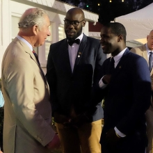"The Prince of Wales and The Duchess of Cornwall met with #QueensYoungLeaders Javon Liburd and Dion Browne as part of their visit to St. Kitts and Nevis last week.⁣ ⁣ The Prince of Wales said: ""We have heard about so many wonderful people doing marvellous things in their communities""⁣ ⁣ Watch our Instagram story to find out more 👆 ⁣ #RoyalVisitStKitts #QYLLegacy"