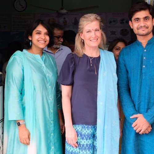 HRH The Countess of Wessex visits Queen's Young Leaders India