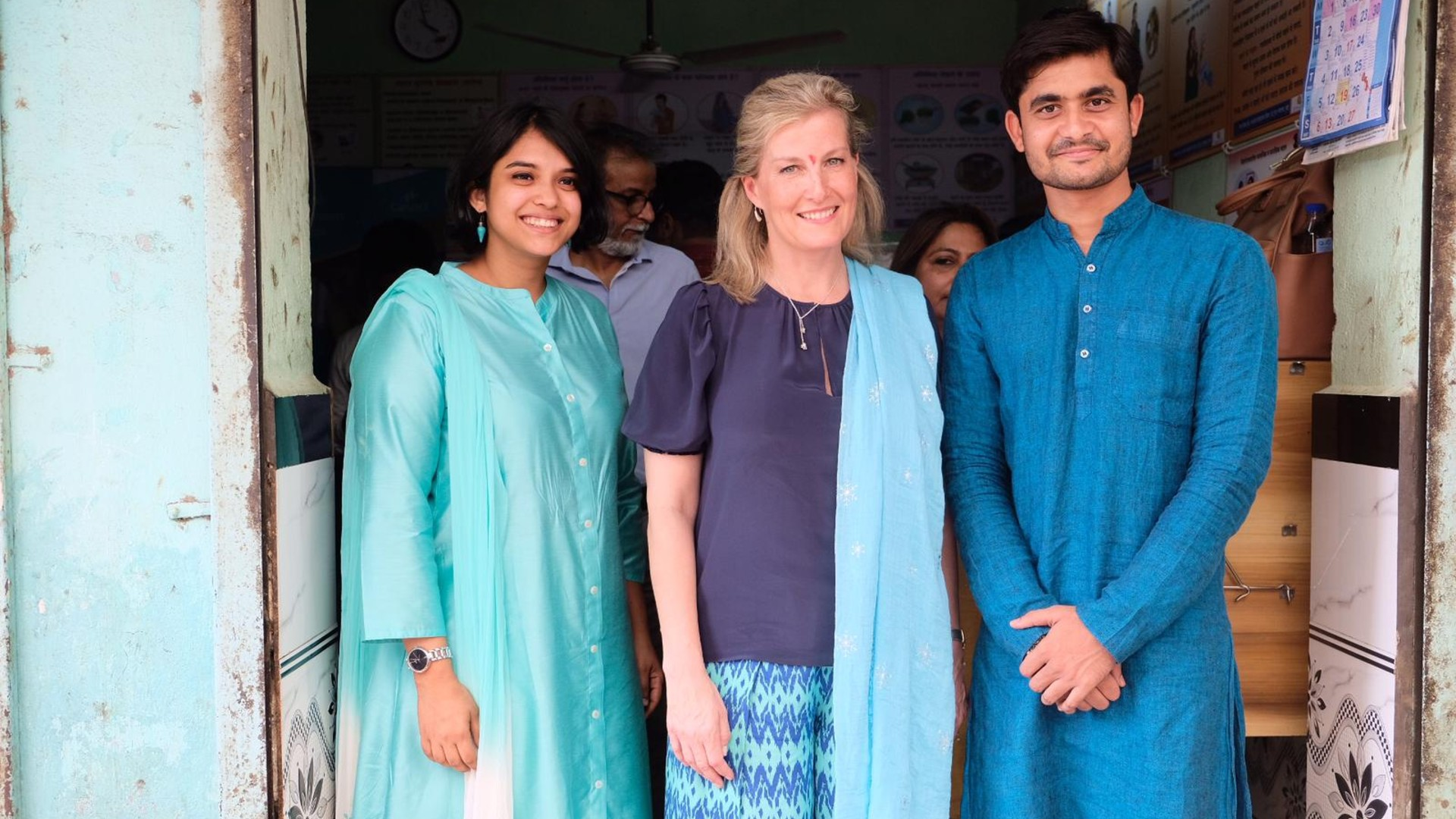 HRH The Countess of Wessex sees how Queen's Young Leaders are transforming women's health care in India
