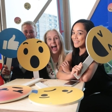 Happy #WorldEmojiDay! Here's a #Throwback to our 2017 #QueensYoungLeaders Award winners on a visit to Facebook & Instagram as part of our Residential Programme 😎🎉🙌🥳  With the network of #QueensYoungLeaders now complete, we're excited to see how this exceptional group of young people are continuing & developing the amazing work they are undertaking in their communities.  #YoungInnovators #YoungChangeMakers #YoungEntrepreneurs #YoungLeaders #Inspiration