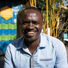 """2018 Award winner Douglas grew up in the Mathare slums in Kenya & is now #TransformingEducation in his local community after experiencing first-hand the challenges children & young people can face in attaining an education.  Douglas says: """"Accessing education was a major challenge when I was younger as my parents could not afford school fees.""""  This inspired him to set-up @oasismathare, a community centre where children who lack the money to attend school can study.  The centre also offers a safe-space where students can do their homework & also provides entrepreneurial & IT skills to unemployed young people, including teenage mothers.  #InternationalYouthDay #YouthDay #YoungLeaders #YoungChangeMakers"""