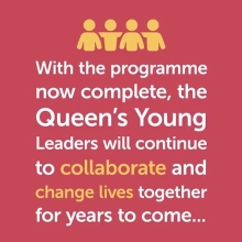 The #QueensYoungLeaders Programme has discovered, celebrated & supported exceptional young people across 53 Commonwealth countries who are driving change on some of the urgent challenges facing the Commonwealth's communities – including mental health, education, climate change, employment opportunities and gender equality.  With the network now complete, this group of changemakers will continue to change lives together for many years to come, leaving a lasting legacy in honour of The Queen.  #QYLLegacy #YoungLeaders #YoungChangeMakers #YoungInnovators