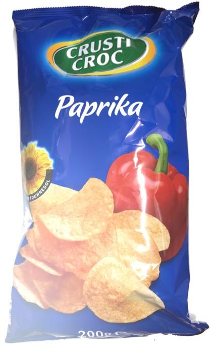 Chips paprika flavour (zak (overig), 250g)