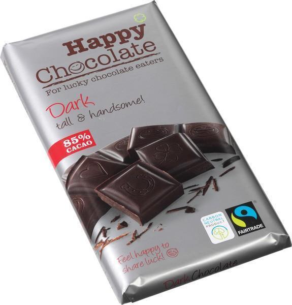 Dark Chocolate 85% cacao (reep, 180g)