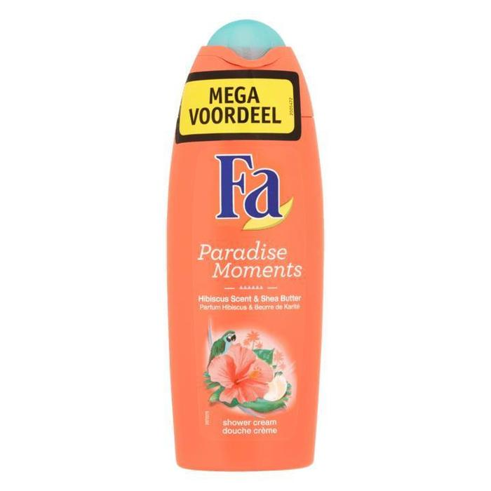 Fa Paradise Moments Hibiscus Scent & Shea Butter Shower Cream Mega Voordeel 3 x 250ml (3 × 250ml)