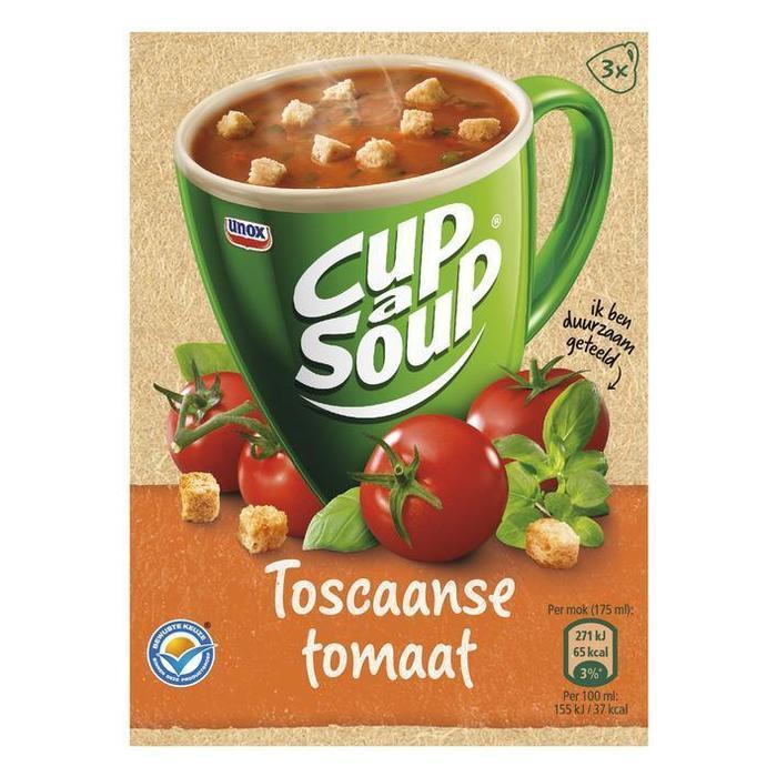 Unox Cup-a-soup Toscaanse tomaat (3 × 48g)