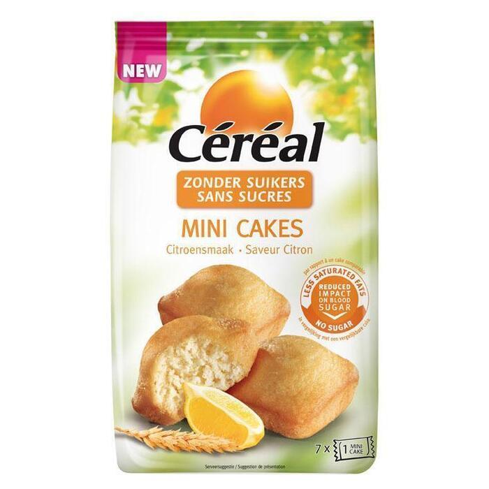 Cereal SB mini cake citroen (196g)