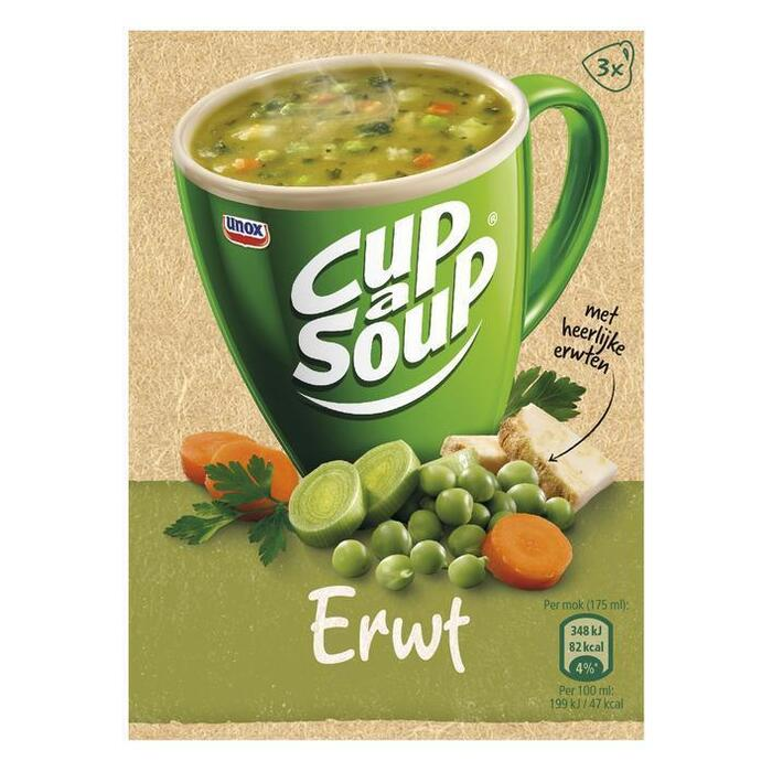 Cup-a-Soup erwtensoep (3 × 21g)