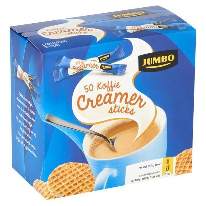 Jumbo Koffie Creamer Sticks 50 x 2, 5g (50 × 2.5g)
