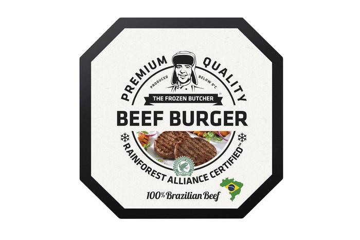 The Frozen Butcher Beef burger 100% Brazilian beef (2 × 250g)