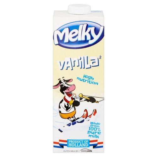 Melky Magere Melk met Vanillesmaak 1L (1L)
