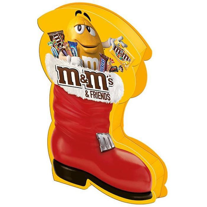 M&M's & FRIENDS Chocolade assorti 182g Doos (182g)