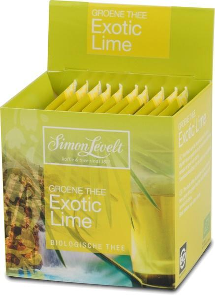 Exotic Lime (groene thee) (builtje, 10 × 17.5g)