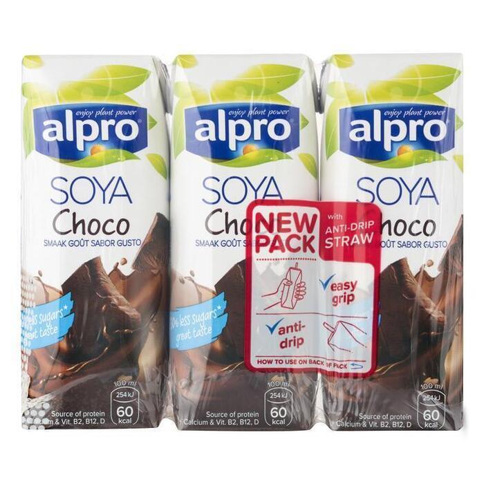 Sojadrink choco 3 x 250ml (3 × 250ml)