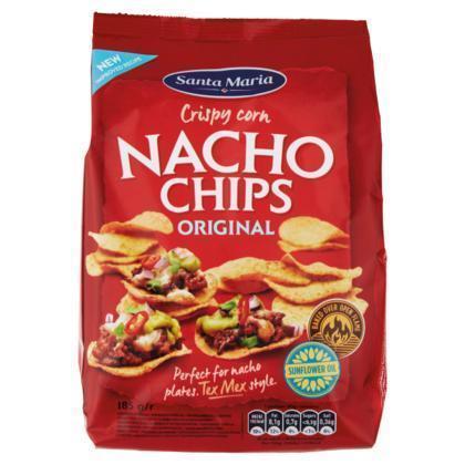 Nacho Chips (zak, 185g)