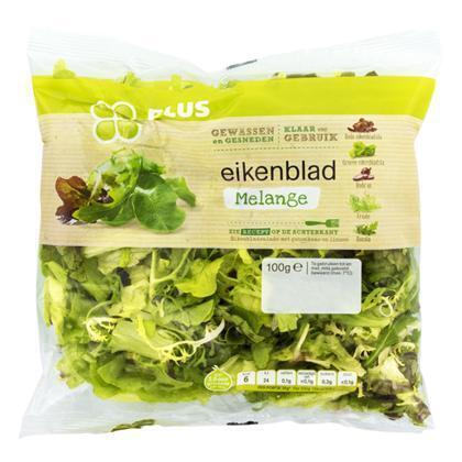 Sla eikenblad melange (100g)