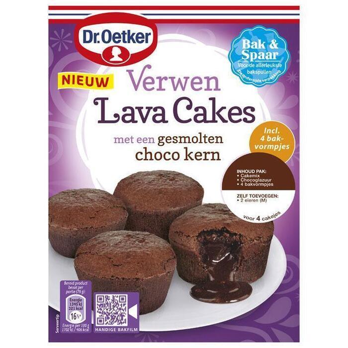 Verwen Lava Cakes met een Gesmolten Choco Kern 240 g (240g)