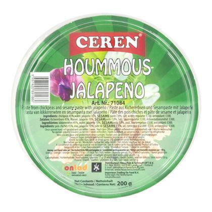Ceren Hummus jalapeno (200g)