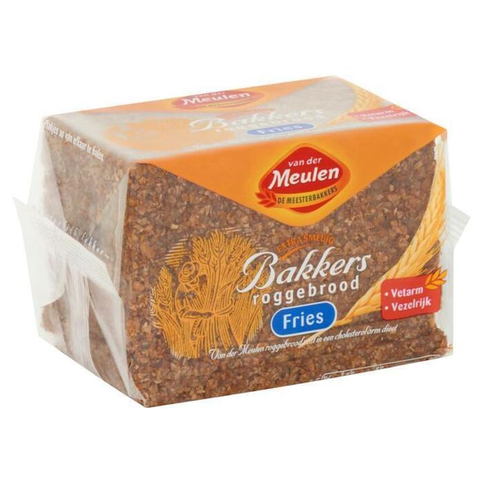 Van der Meulen Bakkers Roggebrood Fries 500g (500g)